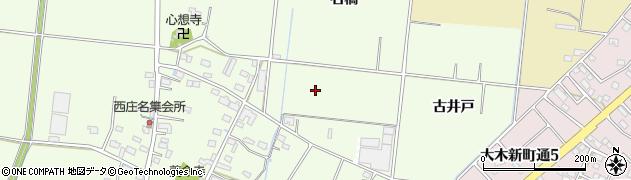 愛知県豊川市篠田町周辺の地図