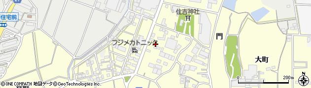 愛知県豊川市大崎町(宮之坪)周辺の地図