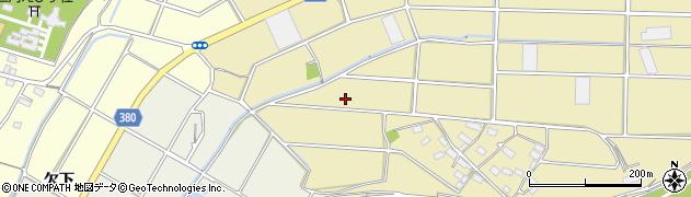 愛知県豊川市豊津町(柳下)周辺の地図
