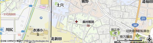 愛知県武豊町(知多郡)大屋敷周辺の地図