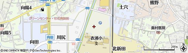 愛知県武豊町(知多郡)目堀周辺の地図