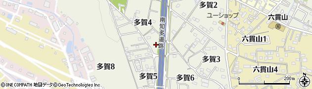 愛知県武豊町(知多郡)多賀周辺の地図