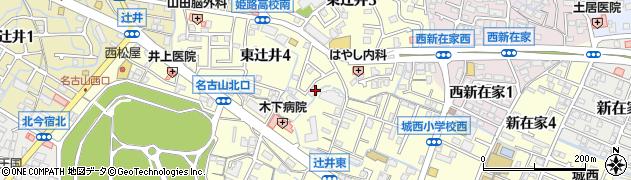 兵庫県姫路市東辻井周辺の地図