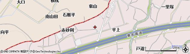 愛知県豊橋市石巻西川町(赤砂利)周辺の地図