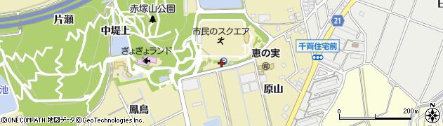 愛知県豊川市市田町(東堤下)周辺の地図