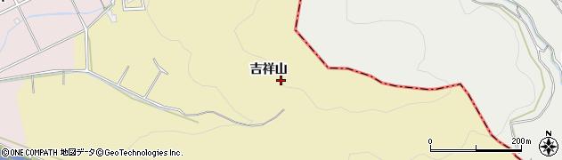 愛知県豊橋市石巻萩平町(吉祥山)周辺の地図
