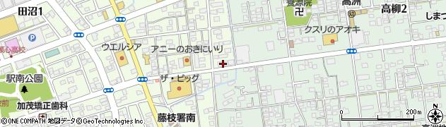 ミント周辺の地図