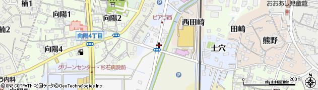 愛知県武豊町(知多郡)道崎田周辺の地図