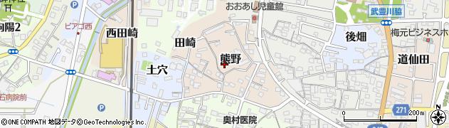 愛知県武豊町(知多郡)熊野周辺の地図