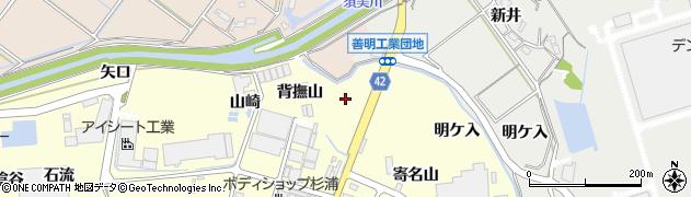 愛知県西尾市吉良町岡山(下り松)周辺の地図