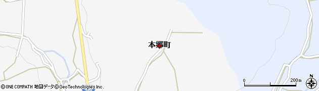 広島県庄原市本郷町周辺の地図