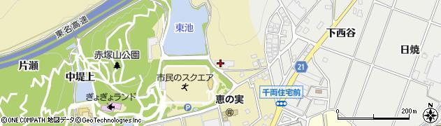 つれづれ周辺の地図