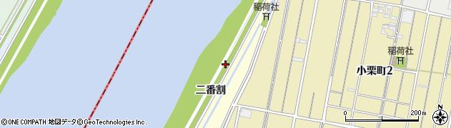 愛知県西尾市西奥田町周辺の地図