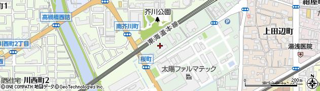 明田コーポ周辺の地図