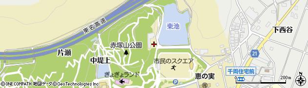 愛知県豊川市市田町(東堤上)周辺の地図