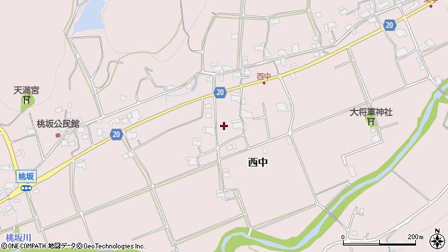 〒673-0735 兵庫県三木市口吉川町西中の地図