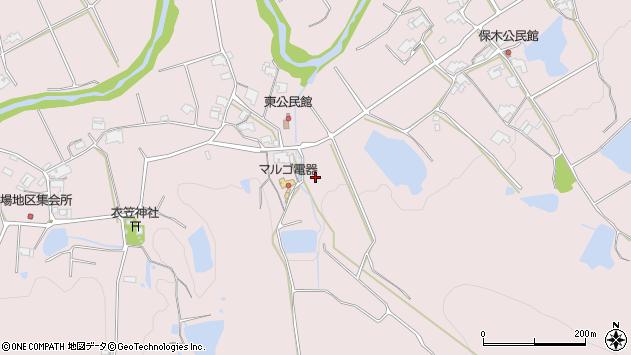 〒673-0733 兵庫県三木市口吉川町東の地図