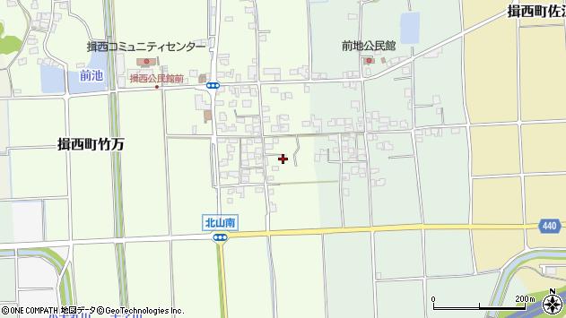 〒679-4013 兵庫県たつの市揖西町北山の地図