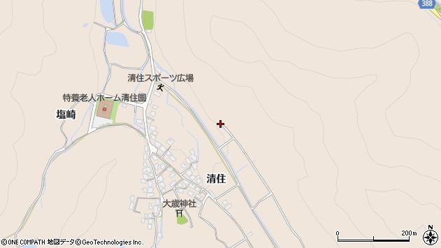 〒671-0205 兵庫県姫路市飾東町清住の地図