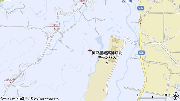〒673-1244 兵庫県三木市吉川町水上の地図