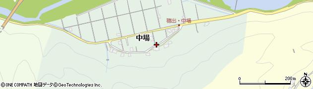 島根県浜田市穂出町(中場)周辺の地図