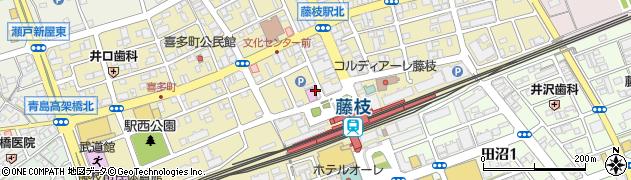 夏蓮周辺の地図