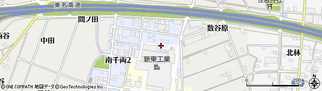 愛知県豊川市南千両周辺の地図
