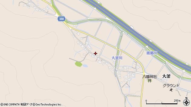 〒671-0203 兵庫県姫路市飾東町大釜の地図