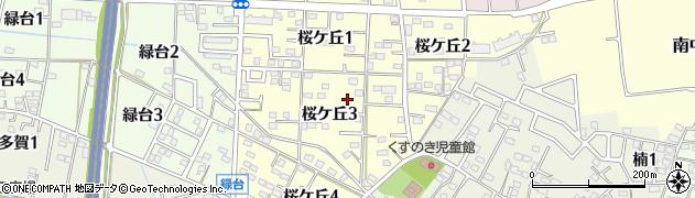 愛知県武豊町(知多郡)桜ケ丘周辺の地図