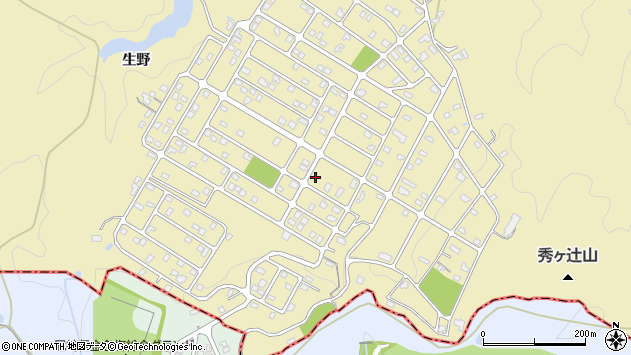〒669-1161 兵庫県神戸市北区道場町生野1172番地の地図