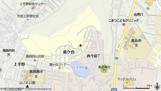 〒670-0066 兵庫県姫路市藤ケ台の地図