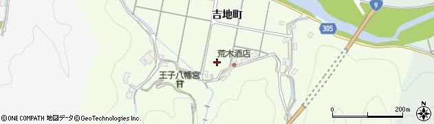 島根県浜田市吉地町周辺の地図