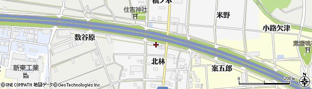いな穂周辺の地図