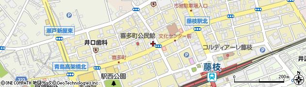 モンスター(MOONSTAR)周辺の地図