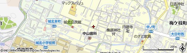兵庫県姫路市伊伝居周辺の地図