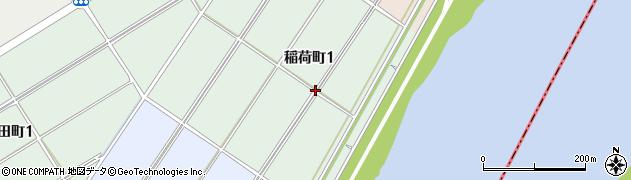 愛知県碧南市稲荷町周辺の地図