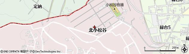 愛知県武豊町(知多郡)北小松谷周辺の地図
