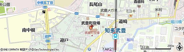愛知県知多郡武豊町周辺の地図