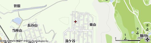 愛知県豊川市御油町(長谷山)周辺の地図