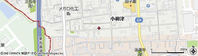 静岡県焼津市小柳津周辺の地図