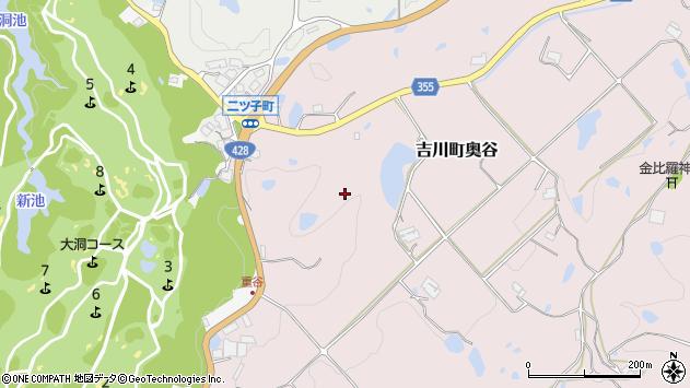 〒673-1242 兵庫県三木市吉川町奥谷の地図