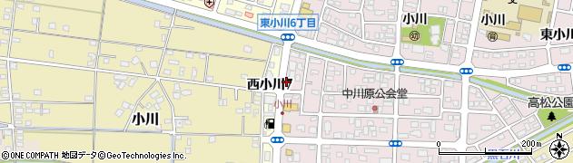 鶏市場周辺の地図