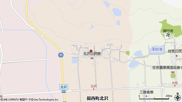 〒679-4022 兵庫県たつの市揖西町北沢の地図