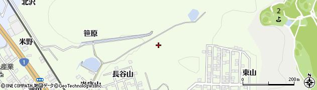 愛知県豊川市御油町(長谷)周辺の地図