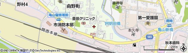 東海旅客鉄道亀山寮周辺の地図
