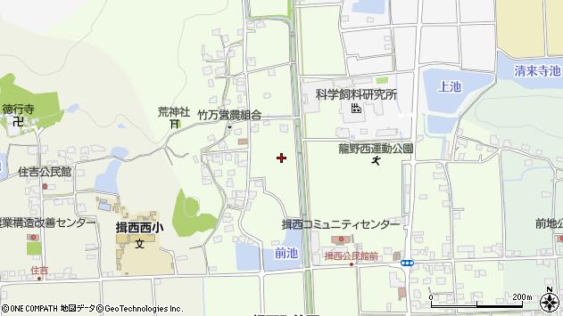 〒679-4014 兵庫県たつの市揖西町竹万の地図