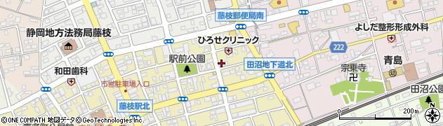つげ家周辺の地図