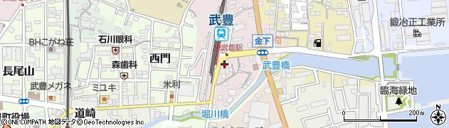 川桝旅館周辺の地図