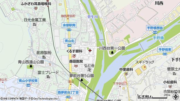 〒671-2214 兵庫県姫路市西夢前台の地図