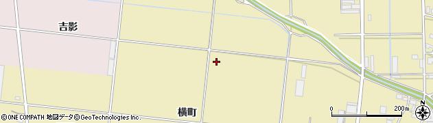 愛知県豊川市大木町(横町)周辺の地図